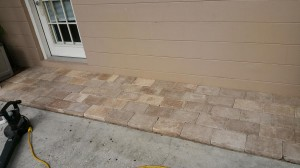 Wrong pavers sent with supplies used to create Front paver entry