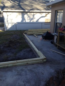 Laying Landscape Ties